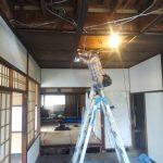 昭和9年の家から生け取った古材をつかって新築